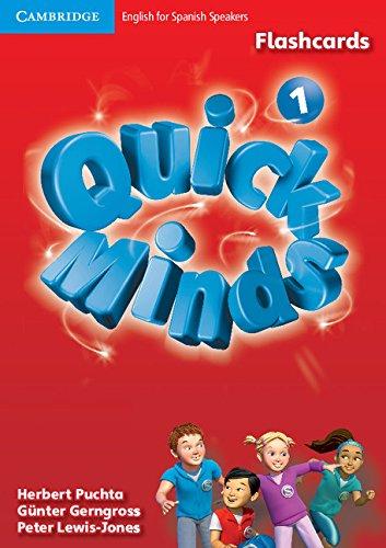 Quick Minds Level 1 Flashcards - 9788483233948