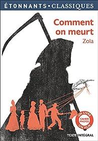 Comment on meurt par Émile Zola