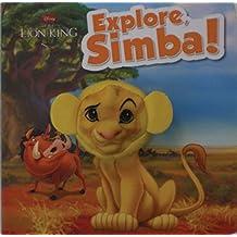 Disney The Lion King Explore, Simba! Finger Puppet Book (Disney Charac Finger Puppet Bk) by Disney (2014-09-19)