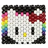 """Brazalete de""""kandi"""" colorido de Arcoiris de""""Hello Kitty"""", Brazalete con cuentas, Brazalete Kandi para halloween festivales de musica, fiestas de musica electronica"""