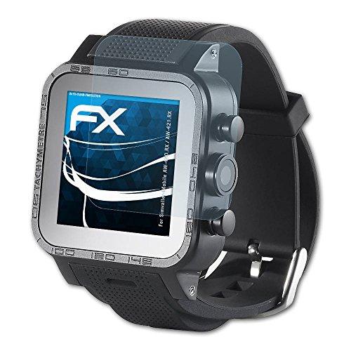atFoliX Schutzfolie kompatibel mit Simvalley-Mobile AW-420.RX/AW-421.RX Folie, ultraklare FX Bildschirmschutzfolie (3X)
