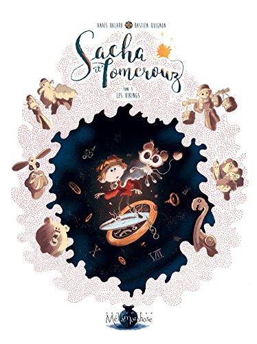 Couverture du livre Sacha et Tomcrouz T01 : Les Vikings