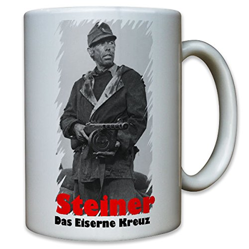 Steiner das eiserne Kreuz Cross of Iron Film James Coburn Feldwebel - Tasse Becher Kaffee #8580 (Alte Film-t-shirts)