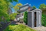 Keter Gerätehaus Manor 4x3, Grau, 1,8m³ - 8