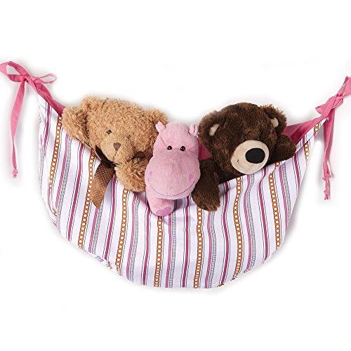 One Grace lugar Sophia Lolita bolsa para juguetes, color rosa