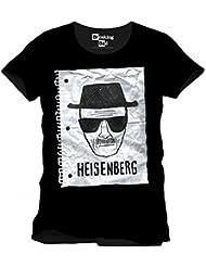 Breaking Bad - T-shirt - Homme Noir Noir