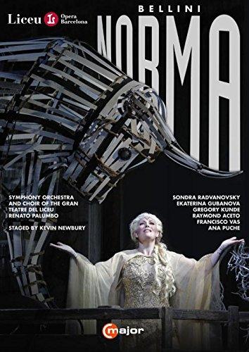 Bellini: Norma (Gran Teatre del Liceu, 2015) [2 DVDs]