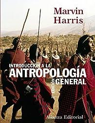 Introducción a la antropología general par Marvin Harris