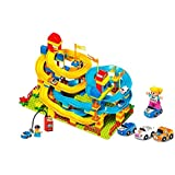 Wise Guys Fast Furious Racing Waving Slideway Blocks Educational Toys For Kids Construction Building Blocks 195 Pieces - Multi Color