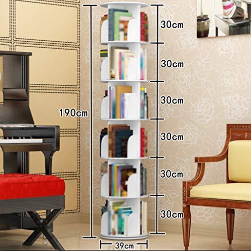 REGAL DINJUEN Kreative 360 ° drehbare Bücherregal Moderne Minimalistische Einfache Student...