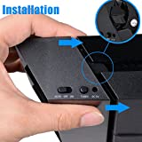 NOVPEAK PS4 Cooling Fan Cooler, USB Super Cooling Turbo 5 Fans Cooler for Sony Playstation 4 PS4 Gaming Console Only