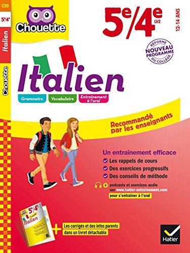Italien 5e/4e: LV2 1re et 2e années (A1 vers A2) par Valentine Pillet