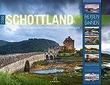 Schottland 2020, Wandkalender im Querformat (54x42 cm) - Natur- und Reisekalender mit Monatskalendarium (Reisen mit allen Sinnen)