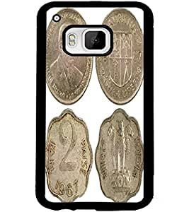 ColourCraft Antique Coins Design Back Case Cover for HTC ONE M9