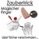 Zaubermaterial magischer Finger Zauberer zaubern Magie Anfänger Kinder Profis