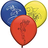 Verbetena, 014300066, pack 8 glovos los vengadores. globos avengers.