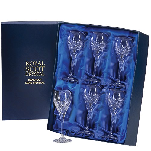 Royal Scot Kristall London Hafen Glass (6er Set)