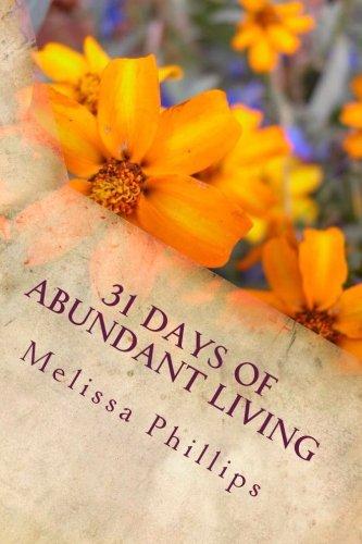 31 Days of Abundant Living