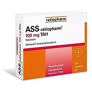 ASS-ratiopharm 100mg TAH 100 stk