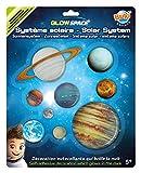 Buki France Sistema Solar fosforescente (3DF10)