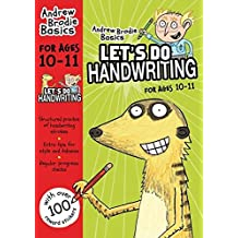 Let's do Handwriting 10-11 (Andrew Brodie Basics)