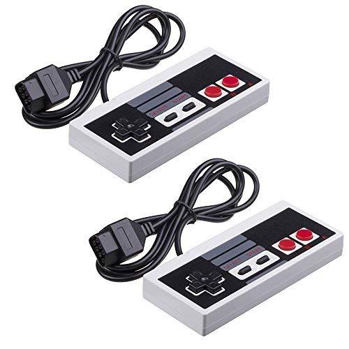 Eillet NES Controller für Nintendo NES 8 Bit Entertainment-System, Konsolen-Steuerung, Ersatzcontroller