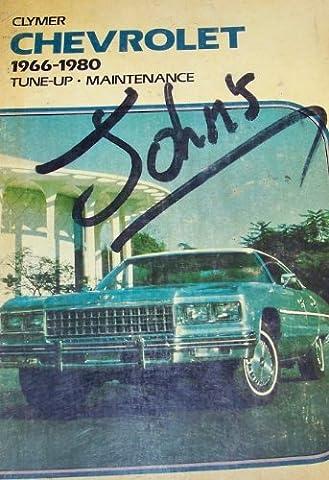 Chevrolet, 1966-1980: Tune-up, maintenance (1980 Chevrolet)