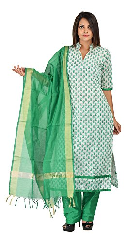 Aaditri Clothing Printed Unstitched Dress Material of Salwar Suit for Women,Dupatta -...
