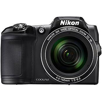 Nikon COOLPIX L840 Digital Camera - Black (16.0 MP, CMOS Sensor, 38x Zoom) 3.0 -Inch LCD