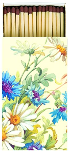Votre Ideal Home Range allumettes Cornflower and Daisy
