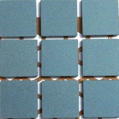 20mm Unglazed Porcelain Mosaic Tiles - Blue