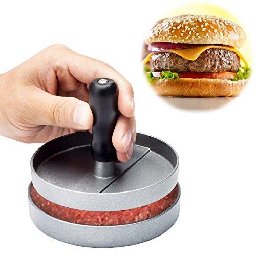 Burgerpresse aus Aluguss mit Antihaftbeschichtung | maker aus Aluguss mit Antihaftbeschichtung | Hamburgerpresse, Hamburger-Presse, Burger Maker
