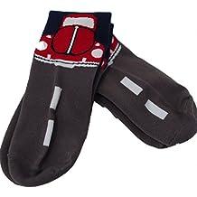 Pack de 2 pares de calcetines para hombre con diseño de gran color rojo VW Beetle