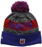 New Era Men's NFL Sideline Bobble Knit New York Giants Beanie