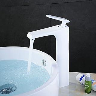 Hieudnre Wasserhahn Für Badezimmer, Aus Gebürstetem Nickel, Bleifrei, 31,5  Cm,