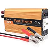 Best Power Inverters - Mesllin Car Boat Modified Sine 1200W Wave Auto Review