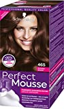 Schwarzkopf Perfect Mousse Permanente Schaumcoloration, 465 Schokobraun Stufe 3, 3er Pack (3 x 93 ml)