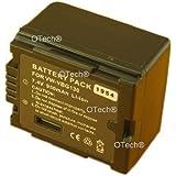 Otech C064SC Batterie pour Caméscope de type Panasonic VW-VBG130 7,4 V 1400 mAh
