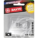 Sanyo CR1/3N Photo Lithium Batterie CR-1/3N, 2L76, DL1/3N