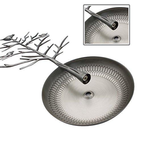 HQdeal Schmuckständer Ohrringhalter Ständer Kettenständer Armbandständer Schmuckbaum Silber