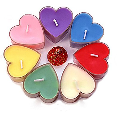 TQP-CK-Heart-Shaped-Floating-Smokeless-Tealights-Candles-for-wedding-reception-Party-Decorations-Charch-Home-Hotel-Resturant-Pack-of-9
