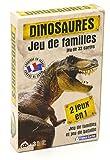 Carta Mundi - 404541 - Jeu DE Cartes- Dinosaures Jeu de familles