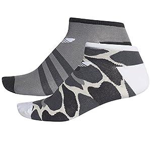 adidas TREF Liner CAMO Unisex-Socken für Kinder, Mehrfarbig (MULTCO/Weiß)