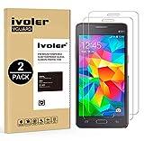 iVoler [Pack de 2] Verre Trempé Compatible avec Samsung Galaxy Grand Prime G530 [Garantie à Vie], Film Protection en Verre trempé écran Protecteur vitre (0,3mm HD Ultra Transparent)