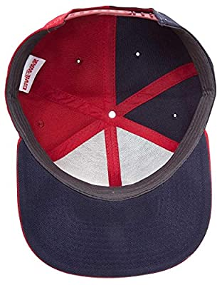 Captain America Civil War Captain America vs Iron Man Casquette Snapback bleu/rouge