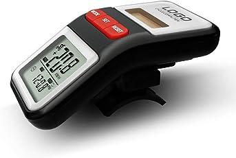 Yakuin Fahrradcomputer Kabellos Fahrrad Computer Wasserdicht Fahrradtacho Tachometer Radcomputer Kilometerzähler Automatische LCD Hintergrundbeleuchtung Motion Sensor Radfahren Zubehör