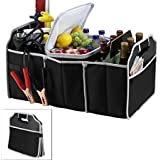 Italish Travel Trunk Cooler Insulated Leak Proof Collapsible Car Boot Organizer