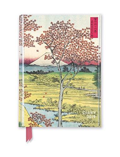 Japanese Woodblock - Japanischer Holzschnitt 2019: Original Flame Tree Publishing-Pocket Diary. Taschenkalender