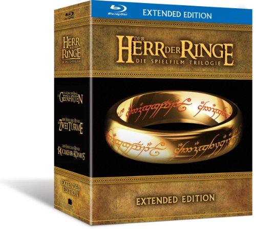 Der Herr der Ringe - Die Spielfilmtrilogie (Extended Edition) [Blu-ray]