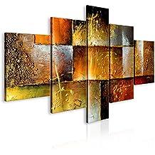100% pintados a mano – cuadro pintado a mano + fotos directamente del artista + pintura + pinturas de paredes modernas + disenos únicos e irrepetibles – cuadro en lienzo 160x93 cm 92340